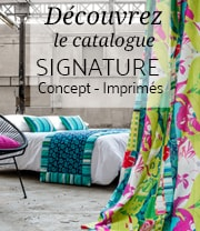catalogue signature concept imprimé