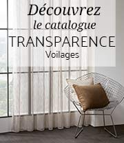 catalogue transparence voilages