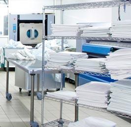 ACM équipe les blanchisserie de vos établissements de soin