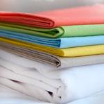 Drap polyester coton collectivité