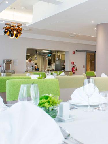 Linge de table pour restaurant de collectivité
